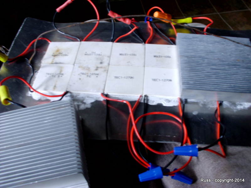 heat powered electric generator